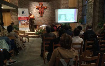 Discours de  Victoria Martín de la Torre 10.10. 2018  – Becoming a Saint In Politics. The examples of Robert Schuman and Alcide de Gasperi.