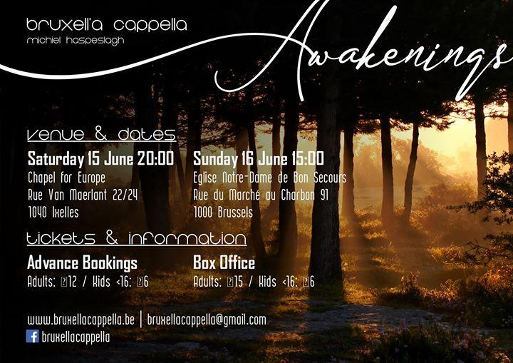 Awakenings – Concert of Bruxell'a Cappella