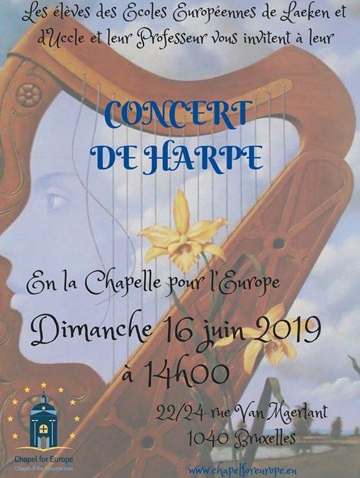 Concert de Harpe – EU Schools