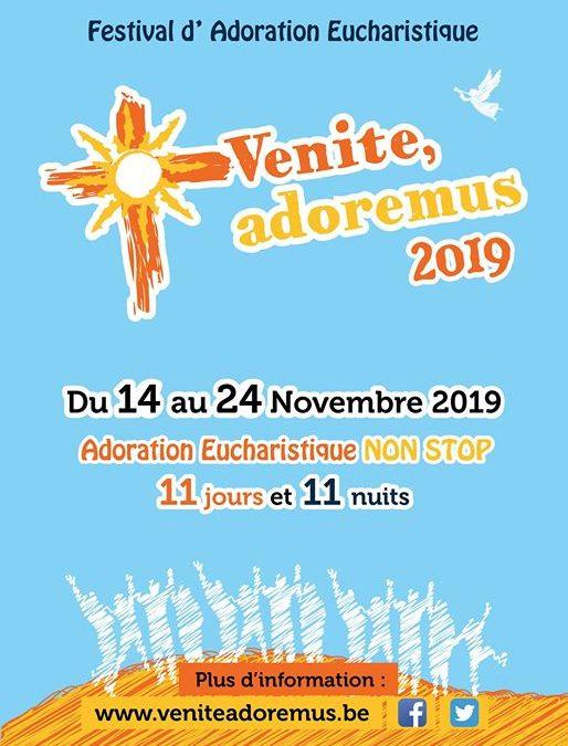 Venite Adoremus 2019 – Adoration Eucharistique