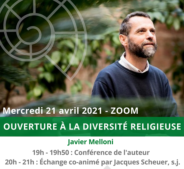 Ouverture à la diversité religieuse, livre et rencontre ZOOM avec Javier Melloni sj