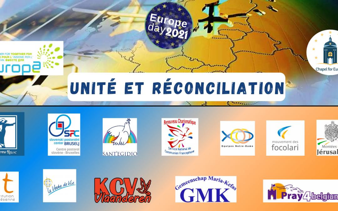 Unité et Réconciliation – Journée de l'Europe 2021
